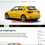 Xe sang Audi S3 công khai cấu hình và giá bán