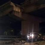 Ô tô 7 chỗ rơi từ đường trên cao, lái xe chết thảm