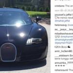 Ronaldo mới mua siêu xe Bugatti Veyron bản đặc biệt
