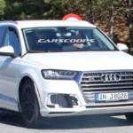 Xe sang Audi Q8 bị bắt gặp đang chạy thử