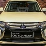 Có thể đặt hàng xe SUV Mitsubishi Outlander từ bây giờ