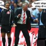 Những tình huống hài hước trong bóng đá tháng 2016