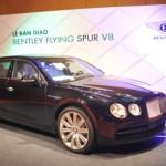 Ngắm xe siêu sang Bentley Flying Spur chính hãng về Việt Nam