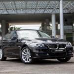 Mua xe sang BMW Series 5 2016 được hỗ trợ bảo hành 6 năm
