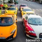 Ngắm dàn siêu xe của đại gia Việt dạo phố cuối tuần tháng 7/2016