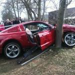 Những tai nạn hài hước của xe Ford Mustang