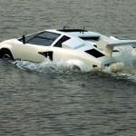 Siêu xe Lamborghini lưỡng cư giá hơn 500 triệu đồng