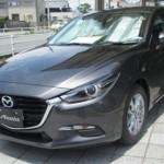 Xe Mazda 3 2017 lần đầu lộ diện trên đường phố