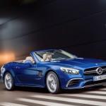 Triệu hồi 2 xe thể thao Mercedes-Benz SL, SLK-Class 2015