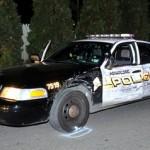 Cảnh sát bị xe con kéo lê vẫn khống chế được kẻ vi phạm