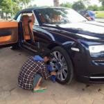 Chi tiết xe siêu sang Rolls-Royce Dawn của đại gia Hải Phòng