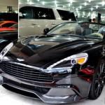 Chi tiết siêu xe Aston Martin Vanquish mui trần về Sài Gòn