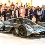 Aston Martin ra mắt siêu xe đua F1 cho đường phố giá 88 tỷ đồng