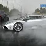 Siêu xe Lamborghini Murcielago gặp nạn trên cao tốc là thật