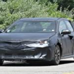 Toyota Camry thế hệ mới 2018 bị bắt gặp chạy thử