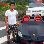 Chơi trội người đàn ông lái xe Porsche tự chế ra đường bị phạt