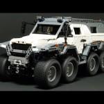 Xem siêu xe SUV 8 bánh Avtoros Shaman của Nga lội sông