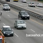 Quy định về giữ khoảng cách giữa các xe trên đường cao tốc