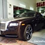 Đánh giá xe siêu sang Rolls Royce Wraith màu nâu độc nhất Việt Nam