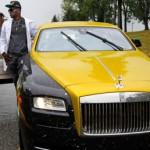 Sao bóng bầu dục khoe Rolls-Royce Wraith độ phong cách lạ lẫm