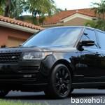 Ngắm xe sang Range rover HSE black bản giới hạn ở Mỹ