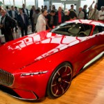 Ngắm siêu xe Mercedes-Maybach 6 coupe ngoài đời thực