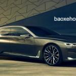 Sắp ra mắt xe siêu sang BMW 9 series để cạnh tranh Maybach S600