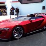Ngắm vẻ đẹp siêu xe Volkswagen GTI mui trần tương lai