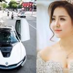 Ngắm cô vợ trẻ xinh đẹp như hot girl được chồng tặng siêu xe ở Đà Nẵng