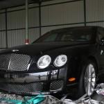 Bentley Continental Flying Spur bị triệu hồi vì lỗi bung cửa nóc