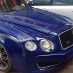 Tìm chủ sở hữu 1 xe ôtô Bentley ở Quảng Bình