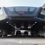Cận cảnh xe buýt khổng lồ nhất thế giới ở Trung Quốc