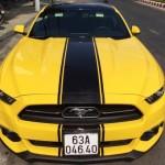 Xe Ford Mustang phiên bản kỷ niệm 50 năm xuất hiện ở Tiền Giang