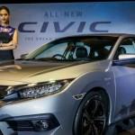 Honda Civic 2016 bắt đầu được bán tại thị trường Malaysia