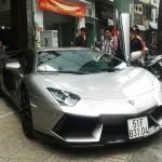 Siêu xe Lamborghini Aventador độ DMC gắn biển tạm