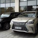 Những xe sang Lexus LX570 trên đường phố Thái Nguyên