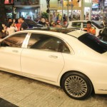 Nội thất Maybach S600 có trang thiết bị tiện nghi nhất thế giới