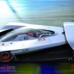 Siêu xe đua Mercedes DTW Concept không đối thủ