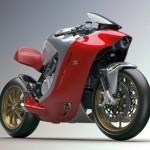 Ngắm siêu xe mô tô MV Agusta F4Z
