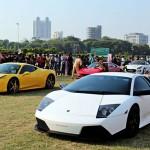 Loạt siêu xe xuất hiện trên đường phố Ấn Độ