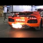 Siêu xe Lamborghini Aventador bị cảnh sát đuổi bắt vì ầm ĩ