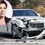Ngôi sao truyền hình thực tế Kris Jenner đâm nát xe Rolls-Royce Dawn