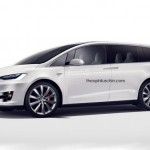 Khám phá về xe Tesla minivan hoàn toàn mới