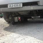 Thương tâm cô gái mang thai bị xe container chèn