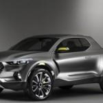 Xe bán tải đi phố Hyundai Santa Cruz sắp ra mắt
