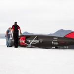 Siêu xe mô tô Triumph đã lập kỷ lục 441 km/h tại Bonneville