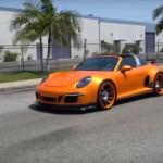 Siêu xe Porsche 911 Targa 4 GTS độ bởi hãng TS Design