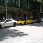 Dàn siêu xe khủng xuất hiện trên đường phố Sài Gòn