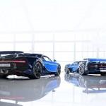 Hoàng tử Ả Rập mua liền lúc 2 siêu xe Bugatti Chiron giá khủng