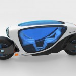 Xe máy tự lái tự cân bằng sắp ra mắt